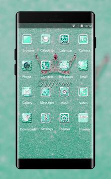 Luxury theme bling tiffany crystal wallpaper screenshot 1