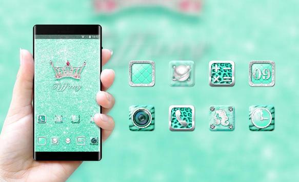 Luxury theme bling tiffany crystal wallpaper screenshot 3