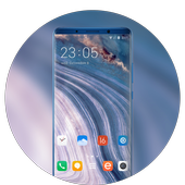 Theme for motorola one power landform wallpaper icon