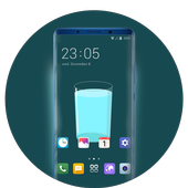 Theme for motorola one power simple cup wallpaper icon