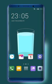 Theme for motorola one power simple cup wallpaper poster
