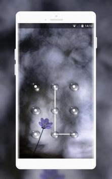 dark flowers theme poster