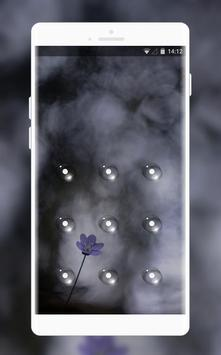 dark flowers theme screenshot 1