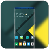 Theme for mi A2 clear business wallpaper icon