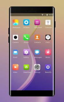 Theme for oppo a83 colorful gradient wallpaper screenshot 1
