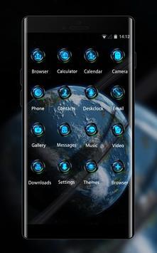 Nature theme wallpaper earth circle moon apk screenshot