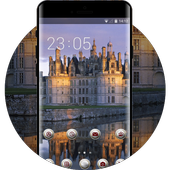 Nature theme wallpaper france castle white stone icon