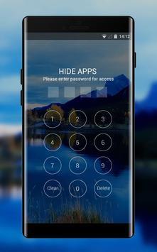 Theme for Oppo F5 mountain lake sky wallpaper screenshot 2