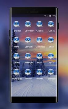 Norway winter theme forest snow wallpaper screenshot 1