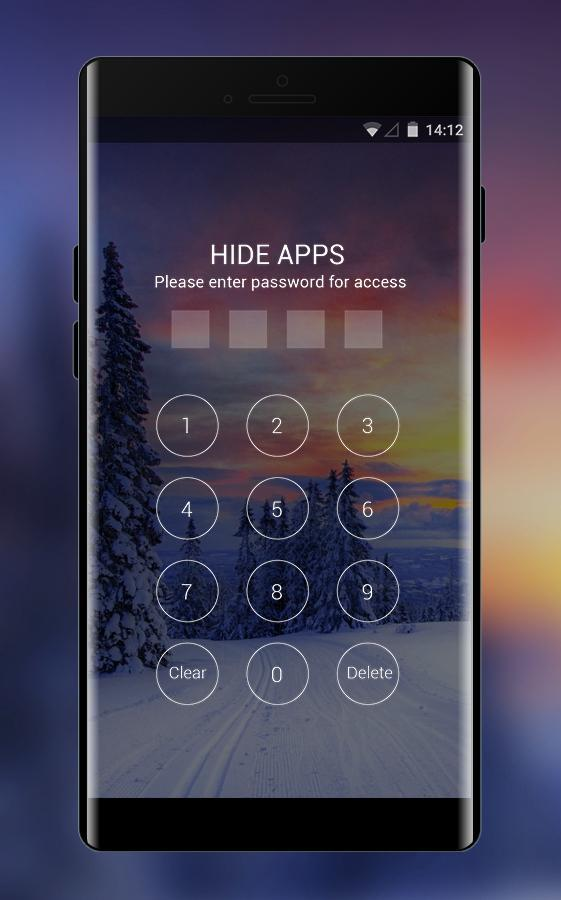 Norway winter theme forest snow wallpaper for Android - APK