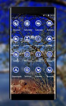 Nature theme wallpaper trees river backgrounds screenshot 1