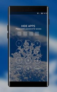 Snowflake theme snow winter wallpaper HD screenshot 2