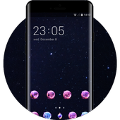 Space theme for galaxy J5 starry sky wallpaper icon