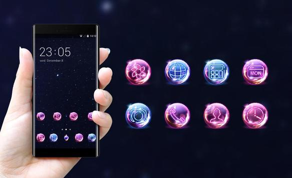 Space theme for galaxy J5 starry sky wallpaper screenshot 3