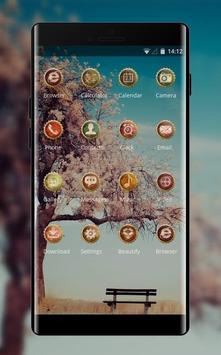 Natura theme natural landscape sea beach screenshot 1