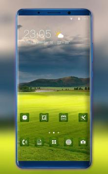 Nature Green Grass Theme for Nokia X6 wallpaper poster