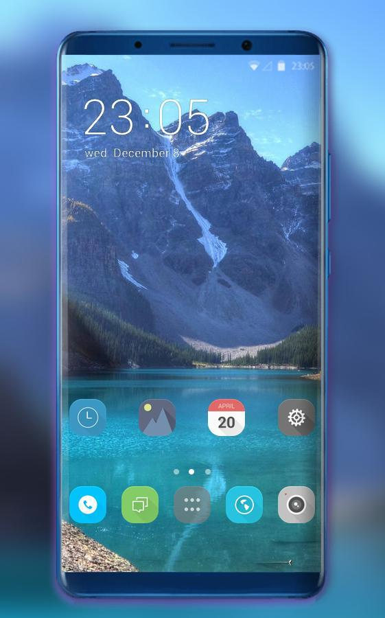 Theme for OPPO F9 Pro mountain sea wallpaper for Android - APK Download