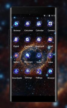Nature theme mo20 eye of space star galaxy flower screenshot 1