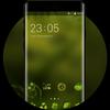 Theme for Mi A1 natural green blur wallpaper ikona