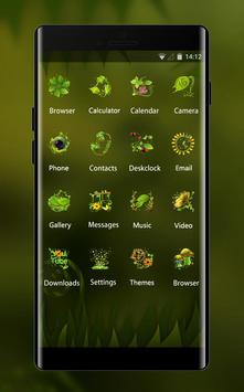 Theme for Mi A1 natural green blur wallpaper 스크린샷 1