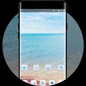 Theme for Smartron t.phone sea beach wallpaper icon