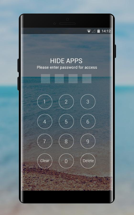 Theme for Smartron t.phone sea beach wallpaper poster