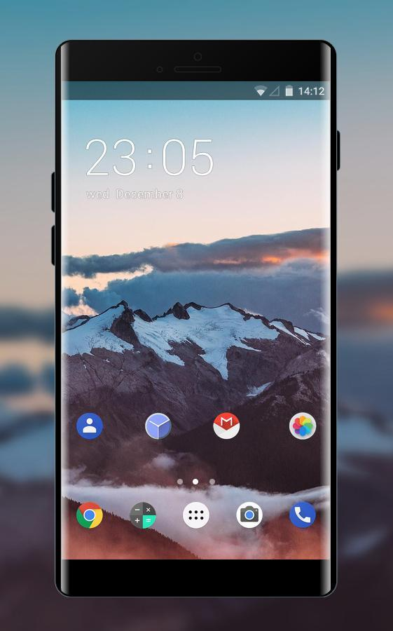 Theme for Meizu M3 Note mountain wallpaper poster
