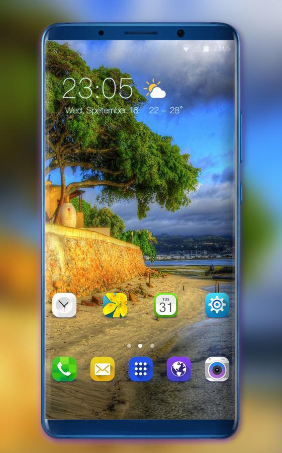 Theme For Samsung Galaxy A8 Star Nature Wallpaper For Android Apk Download