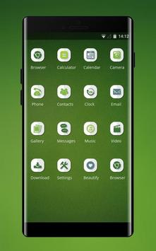 Theme for OPPO realme 2 simple green empty walls screenshot 1