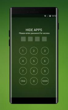Theme for OPPO realme 2 simple green empty walls screenshot 2
