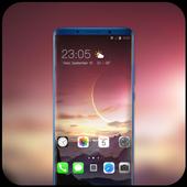 Theme for Nokia X Phone Mi 8 Pro star mountain icon