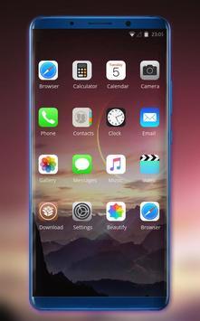 Theme for Nokia X Phone Mi 8 Pro star mountain screenshot 1