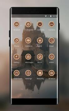 Theme for natural foggy church screenshot 1