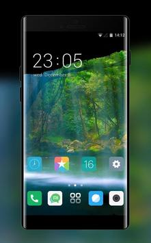Theme for forest falls xiaomi redmi note4 poster