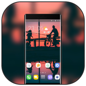 Theme for heart sports at dusk wallpaper icon