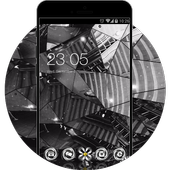 Stylish Glass HD Wallpaper for Vivo V5 icon