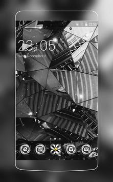 Stylish Glass HD Wallpaper for Vivo V5 poster