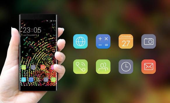 Abstract Color Diamond Theme for Sony Xperia Z3 screenshot 3