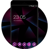 Neon Purple Theme for Nokia 6 icon
