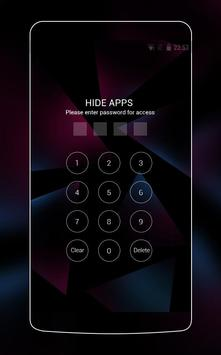 Neon Purple Theme for Nokia 6 screenshot 2