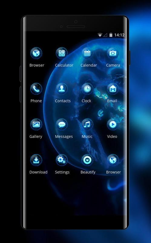 Theme For Samsung Galaxy A7 Jellyfish Wallpaper For Android Apk