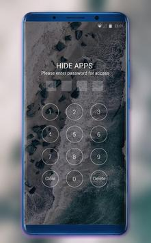 Theme for OPPO realme 2 wave ocean stone wallpaper screenshot 2