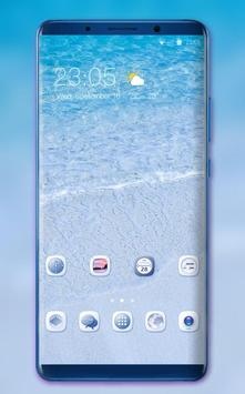 Theme for Oppo R17 Pro beach summer wallpaper poster