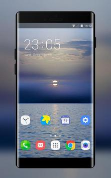 Theme for classic sea xiaomi redmi note4 poster