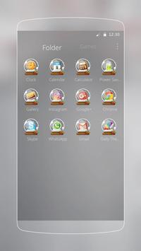 Silver Glittery Christmas apk screenshot