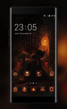Skull Bone Theme Demon Gothic Vampire Wallpaper For Android