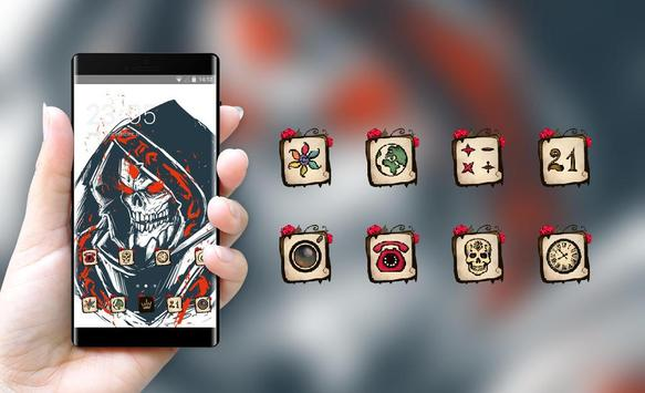 Skull bone theme wallpaper lich ethreain dota 2 screenshot 3