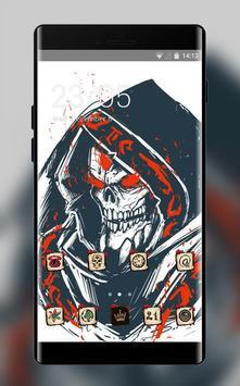Skull bone theme wallpaper lich ethreain dota 2 poster