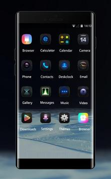 Space galaxy theme mz35 middle of sand desert apk screenshot