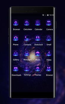 Space galaxy theme mc42 wallpaper stars milky way screenshot 1